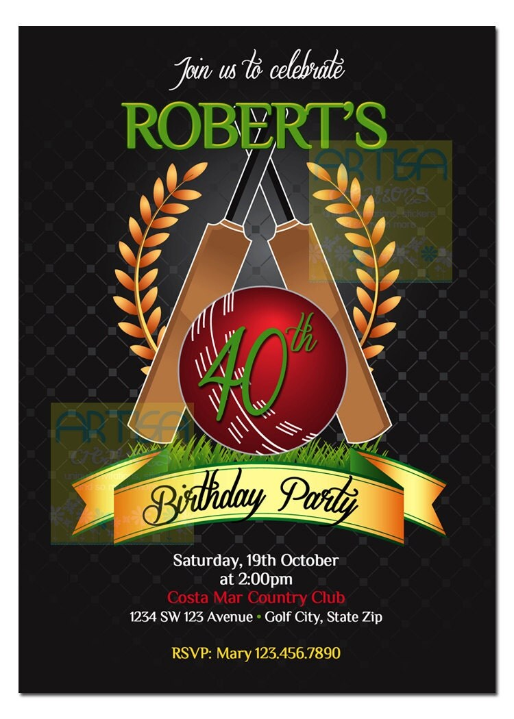 Order Birthday Party Invitations