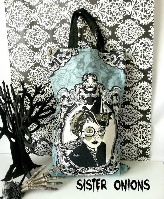 Witches Brew Trick or Treat Bag by Sister Onions on Etsy