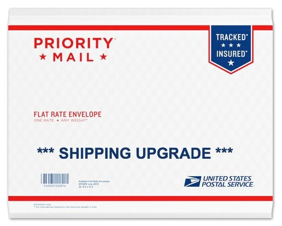 Items similar to Shipping Upgrade - USPS Priority Mail on Etsy