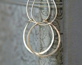 SALE - Sterling Silver Pendant Earrings - Christmas Gift - Silver Earrings - Lightborn