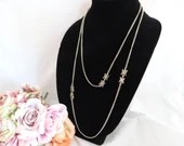Gold Tone Chain Necklace ...