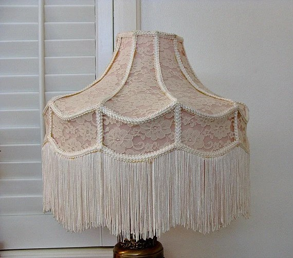 Image result for old fashioned lamp shades with tassels