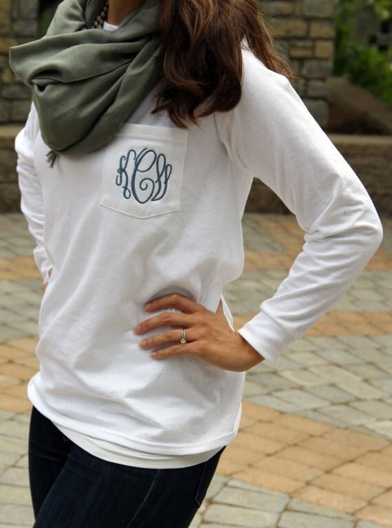 Monogrammed Shirt Sleeves