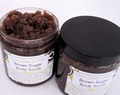 Chocolate Coffee Turbinado Brown Sugar Scrub- Smooth Cellulite - SudzSoaps
