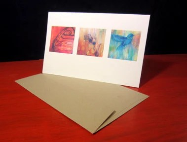 Items similar to poodle greeting cards (6) featuring a dog ...
