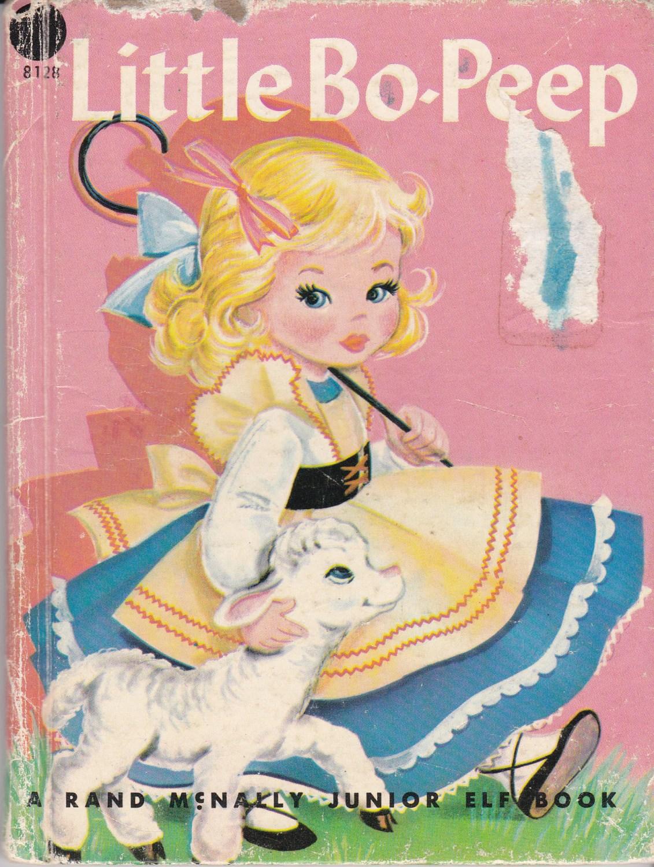 Little Bo Peep Rand Mcnally Junior Elf Book By Jennylouvintage