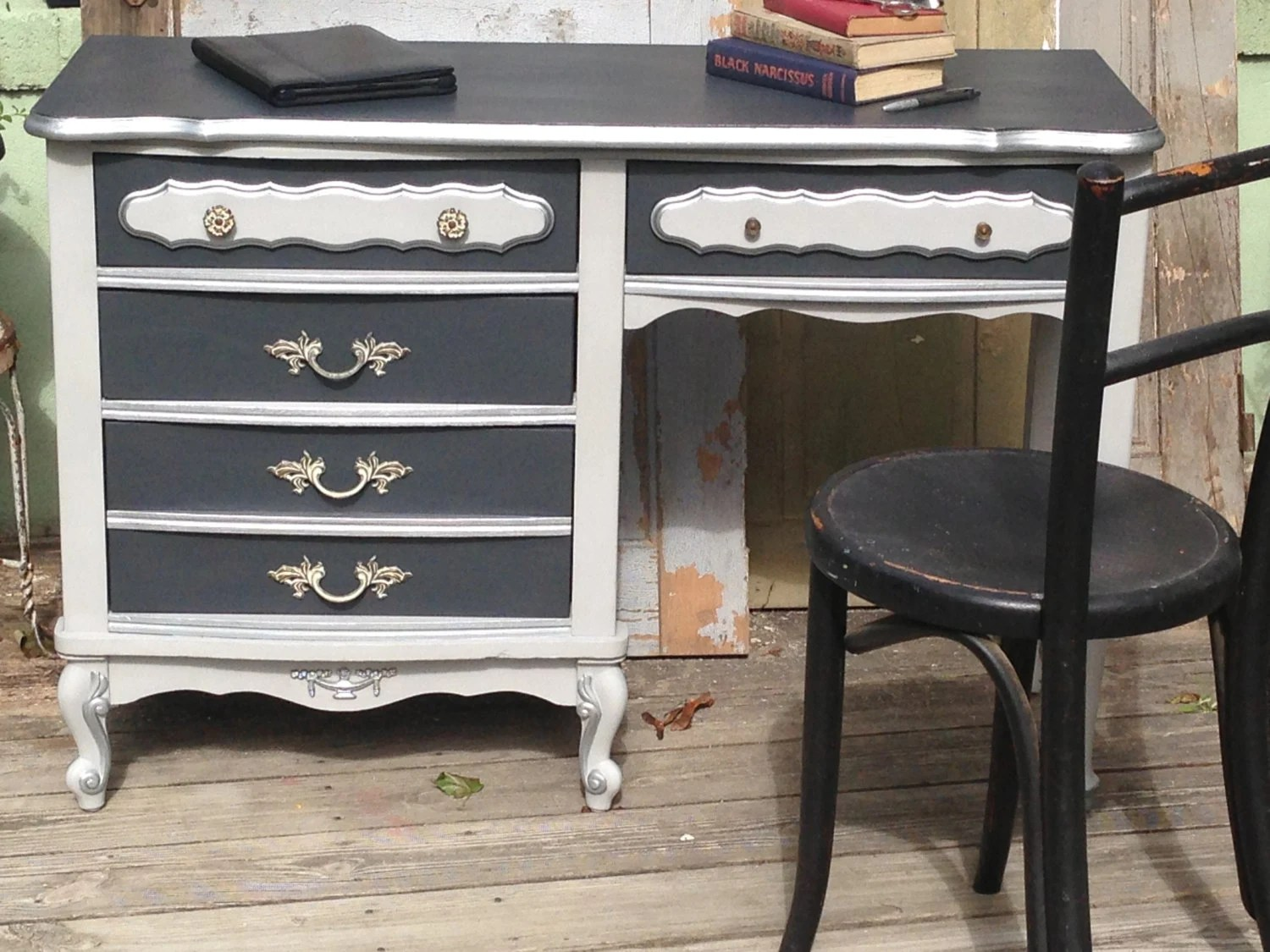 Dining Painted Table Antique White