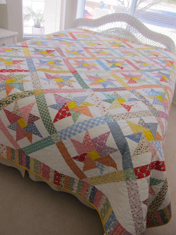 Quilt Prints Patterns Using Large