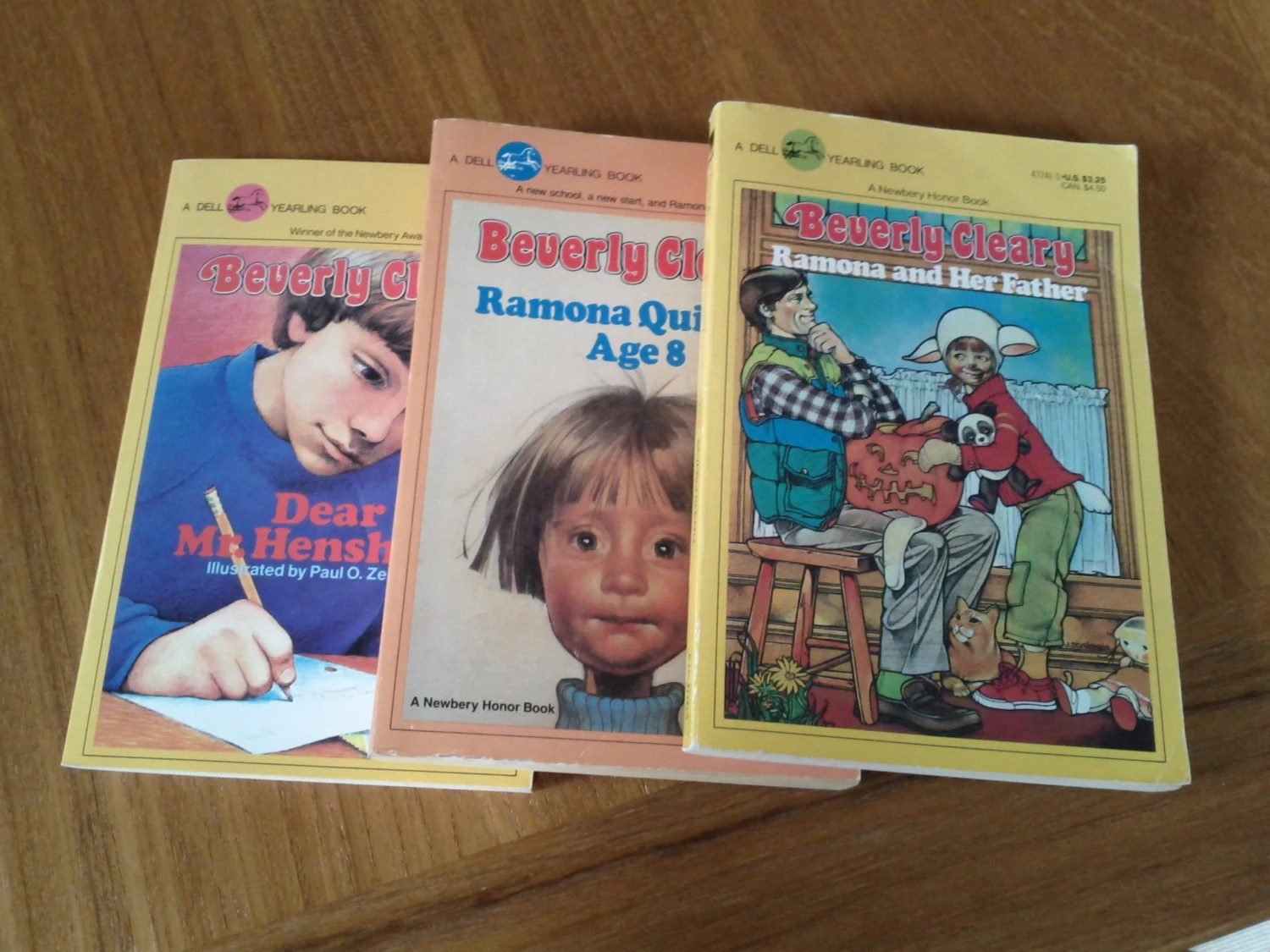 Three Vintage Beverly Cleary Books Ramona And Dear Mr Henshaw