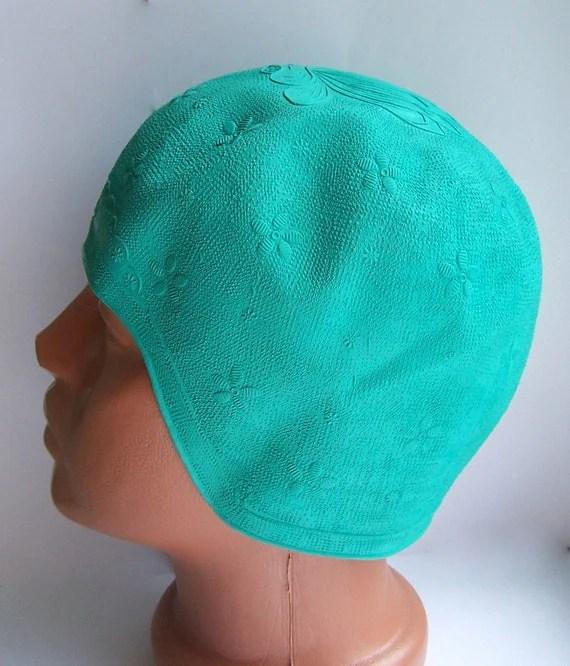 Gorgeous Vintage Swimming Cap. Swimming Bathing Cap Hat. Soviet times