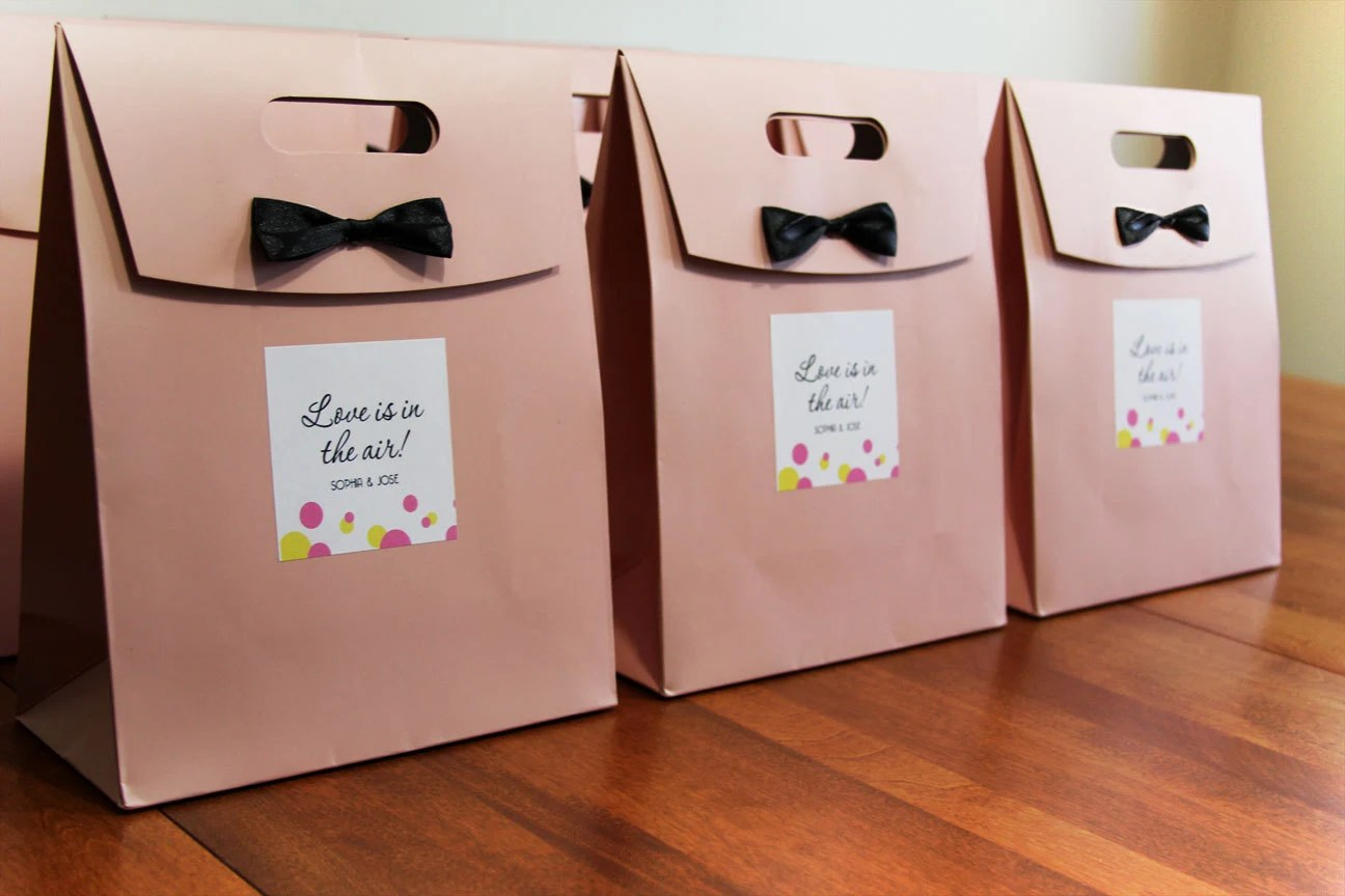 Custom Personalized Wedding Welcome Bags// Destination Wedding