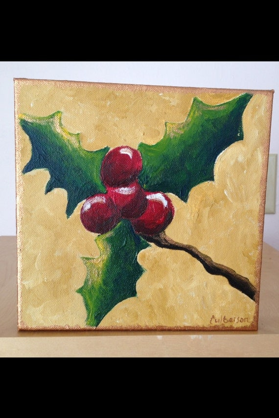 Christmas Pictures Paint Canvas