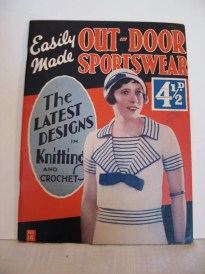 1930s Knitting Pattern Book - Out-Door Sportswear - pdf