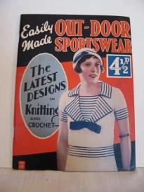 1930s Knitting Pattern Book - Out-Door Sportswear - pdf