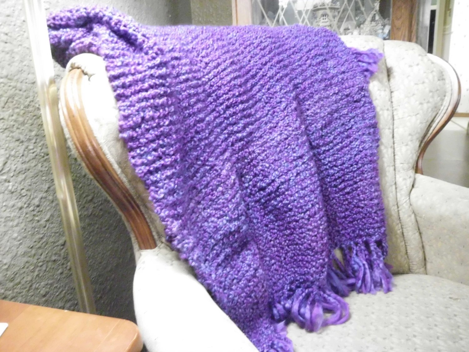 Knitted Shawl For Comfort