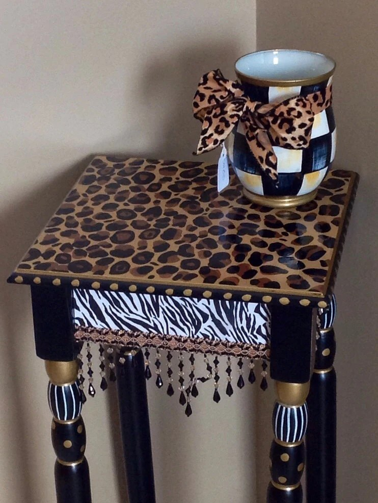 Whimsical Painted Furniture Whimsical Painted Table Painted