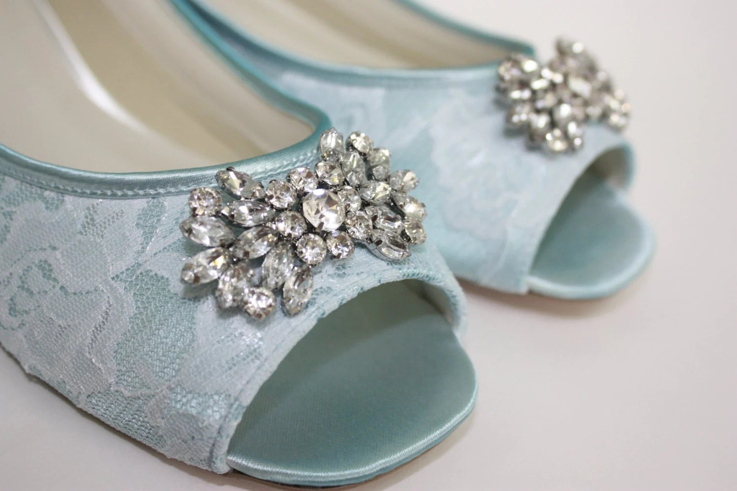 Flat Embellished Wedding Shoes