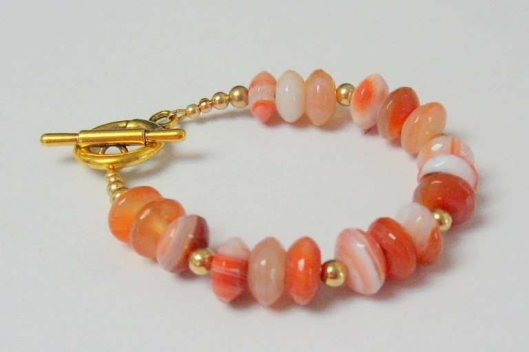 Faceted Agate Bracelet - irideae