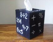 Math Rocks Tissue Box Cover - teacher Classroom - Classroom Decor - ShanaysCreation