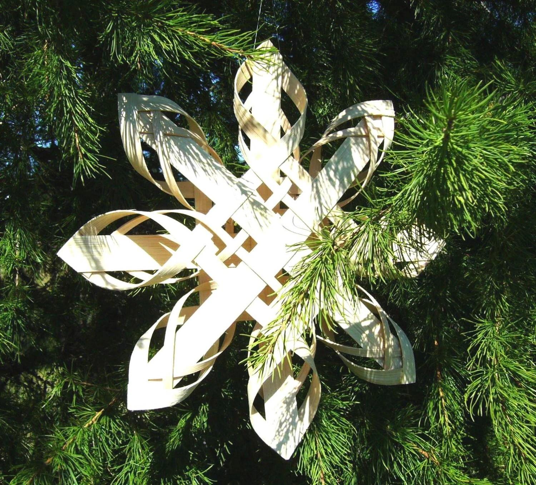 Swedish Advent Christmas Star / Hand Woven 12� Star - Harmonycraft