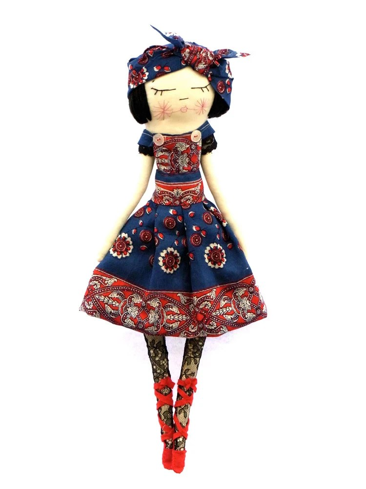 Russian Girl cloth dolly