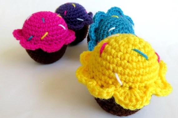 Cat Cupcakes- Organic Catnip Toys