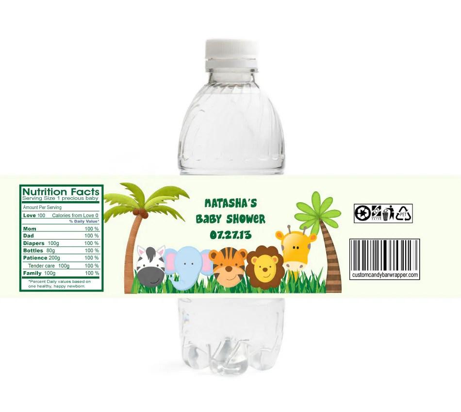 Jungle Theme Baby Shower Banner