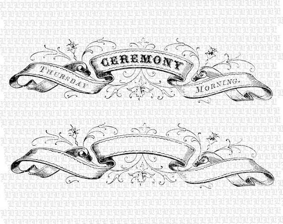 Vintage Banner Clip Art