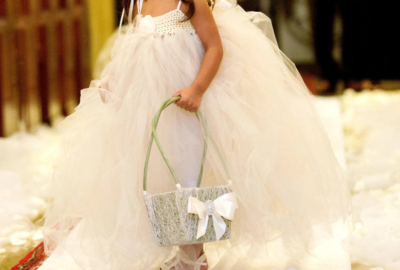 Items Similar To Flower Girl Basket, Wedding Basket