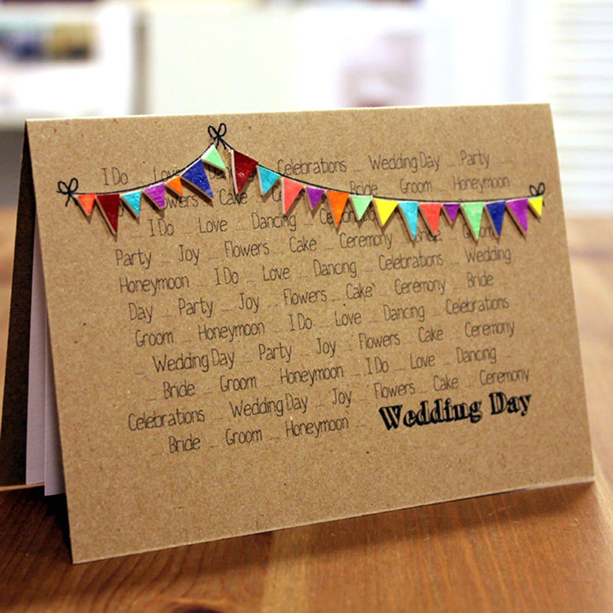 Recycled Wedding Invitations