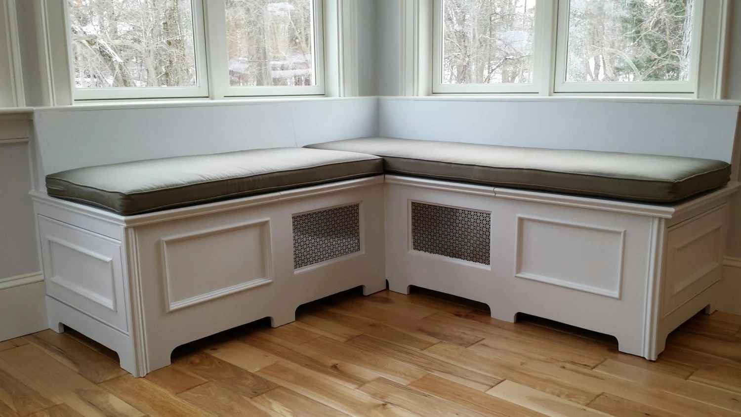 L Shaped Bench Seating Storage