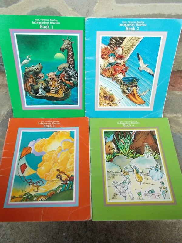 Begin to Read Childrens Books Set of 4 Independent Readers by