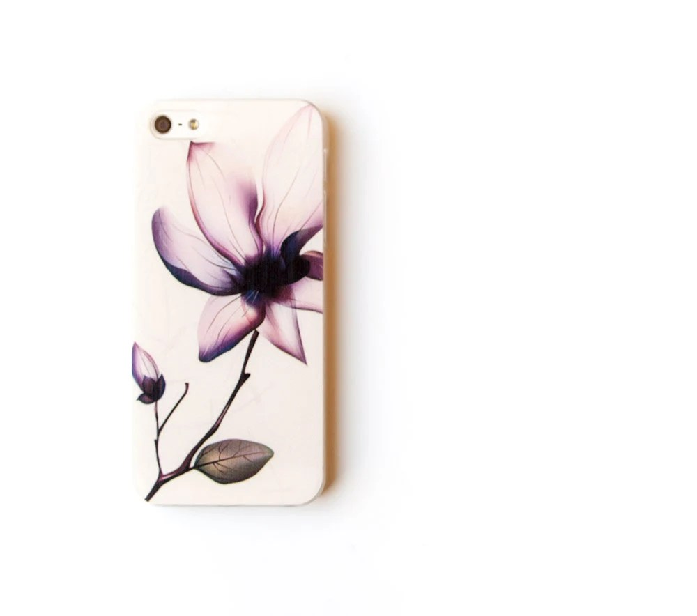 Flora iPhone 5 Case, Flower iPhone 5 Cover - pearlreef