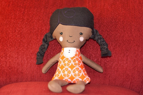 Little Girl Fabric Doll