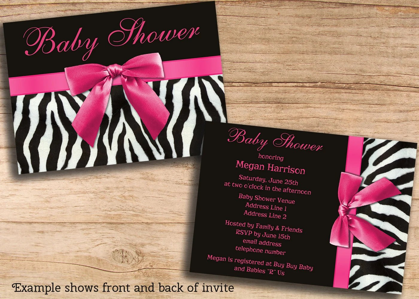 Custom Invitations Templates