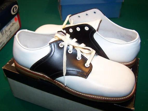 Boys Saddle Shoes Wide