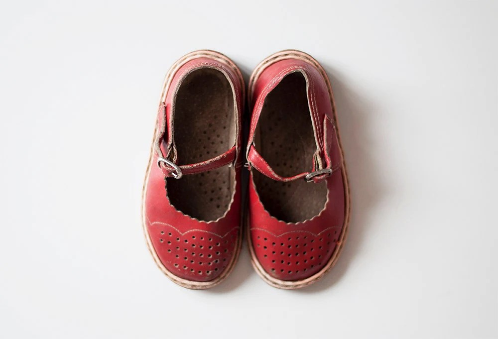 Vintage baby shoes - CuteOldThings