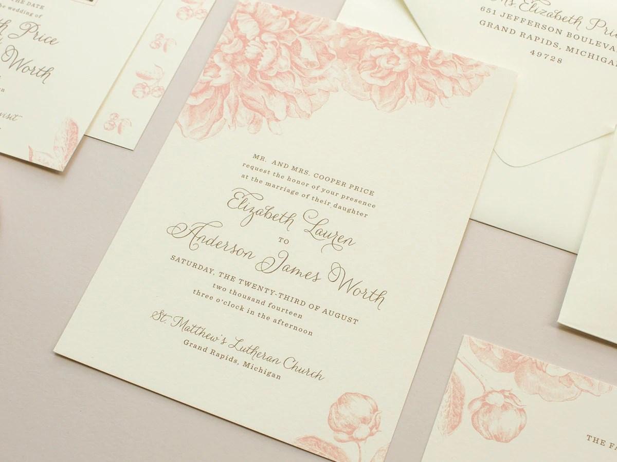 Custom Handmade Invitations