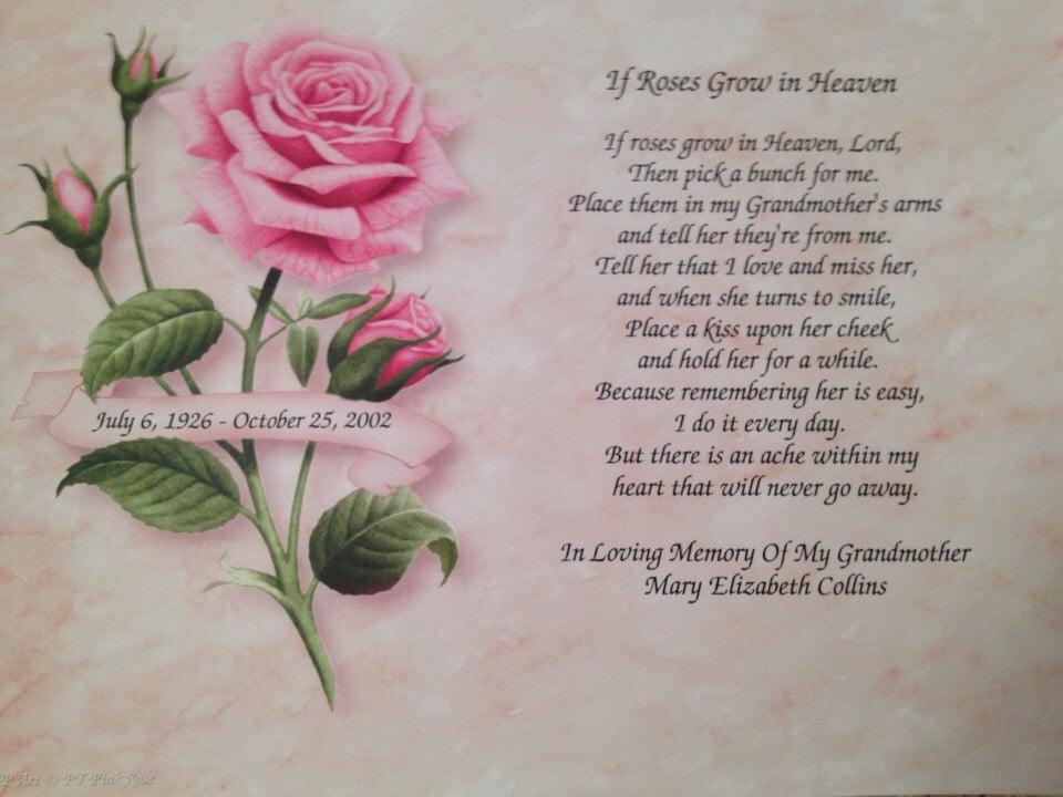 Memory Grandma Poems
