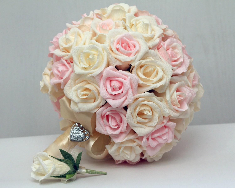 Wedding Bouquet Paper Wedding Bouquet Bridal Bouquet