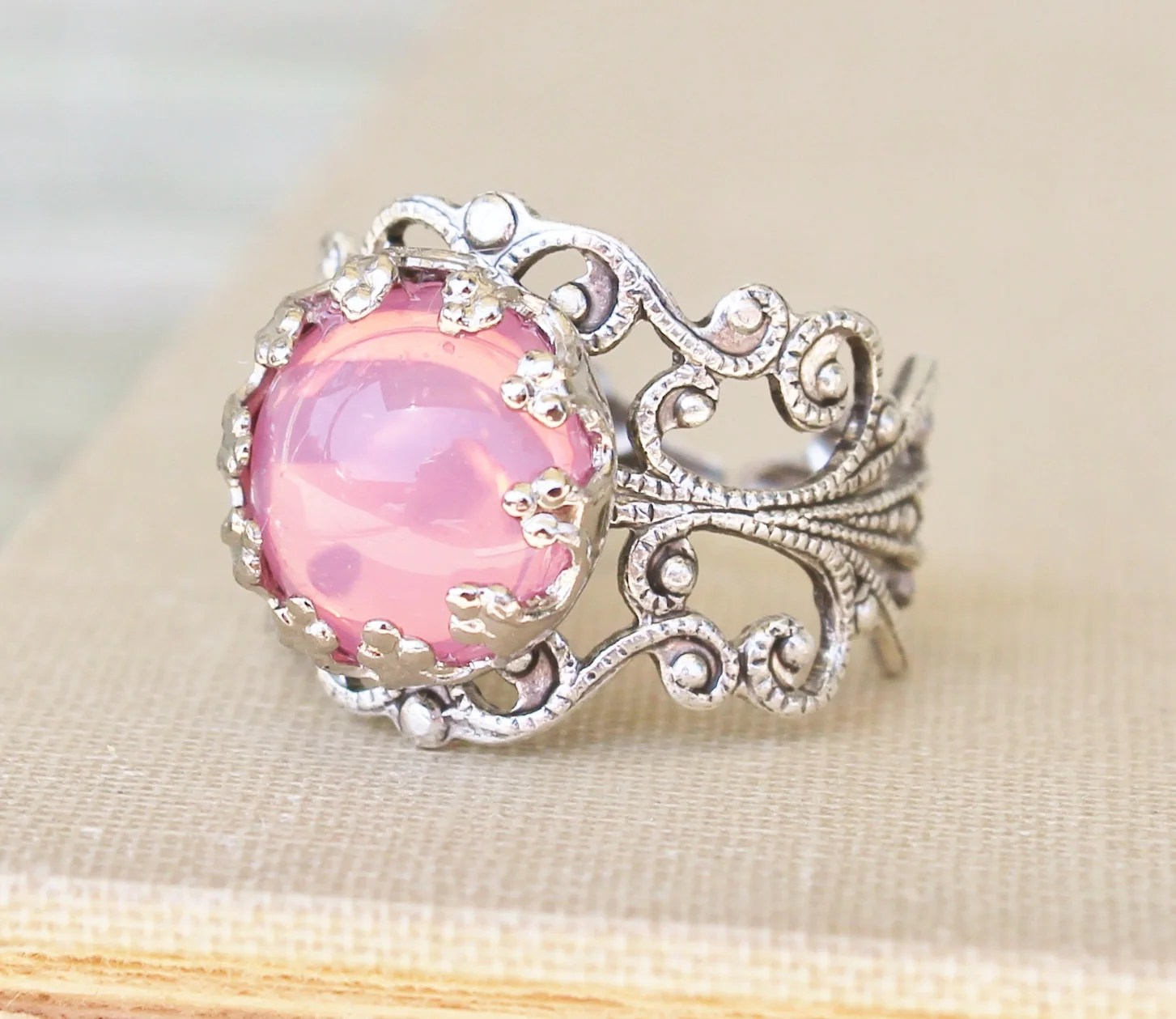 Antique Wedding Rings With Colored Stones