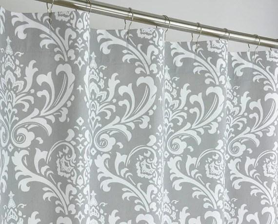 X Long Shower Curtain