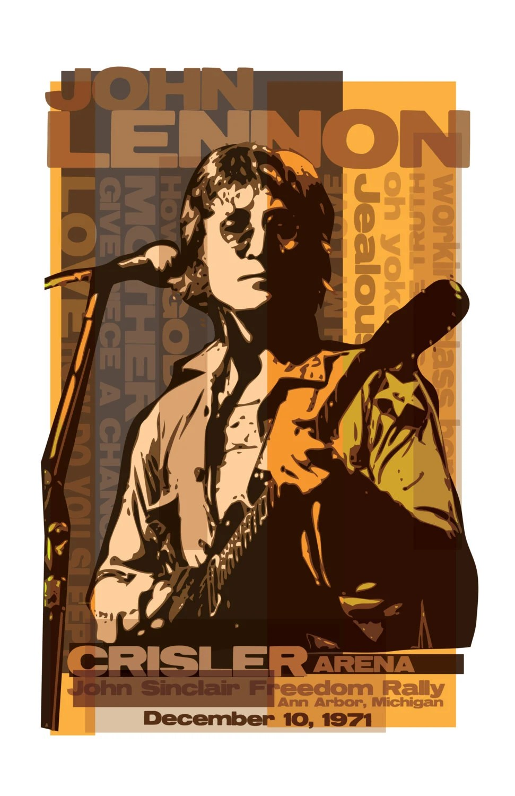 Concert Lennon Posters John