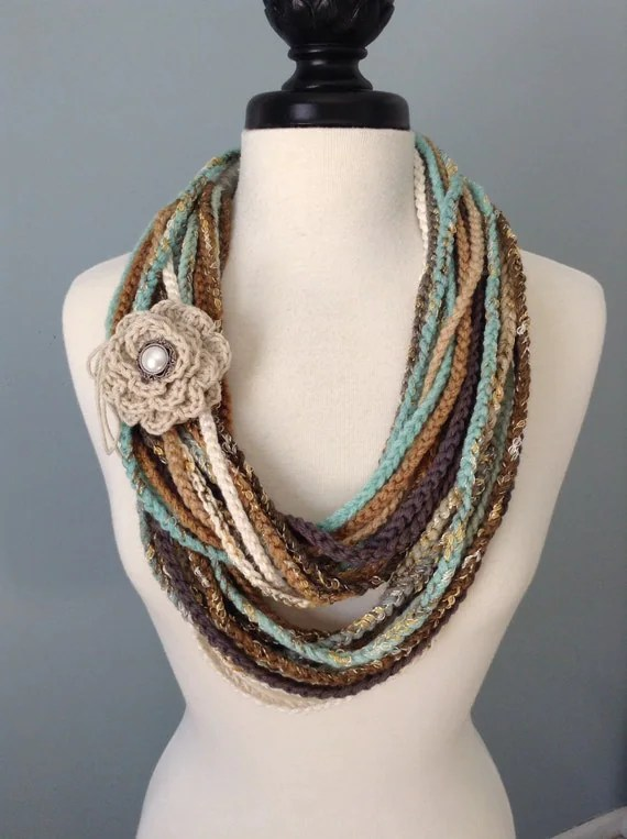 French Knitting Jewelry Patterns