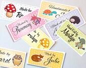 Custom Fabric Labels Sew-...