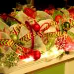 On Style Today 2020 12 21 Christmas Garland Deco Mesh Ideas Here