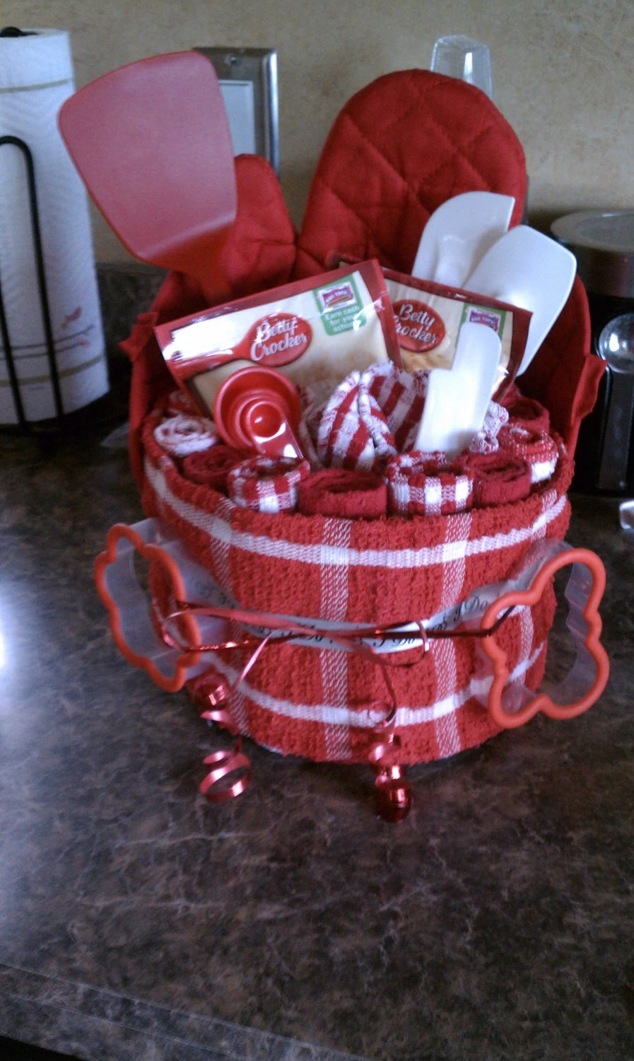 Pinterest Kitchen Towel Cakes