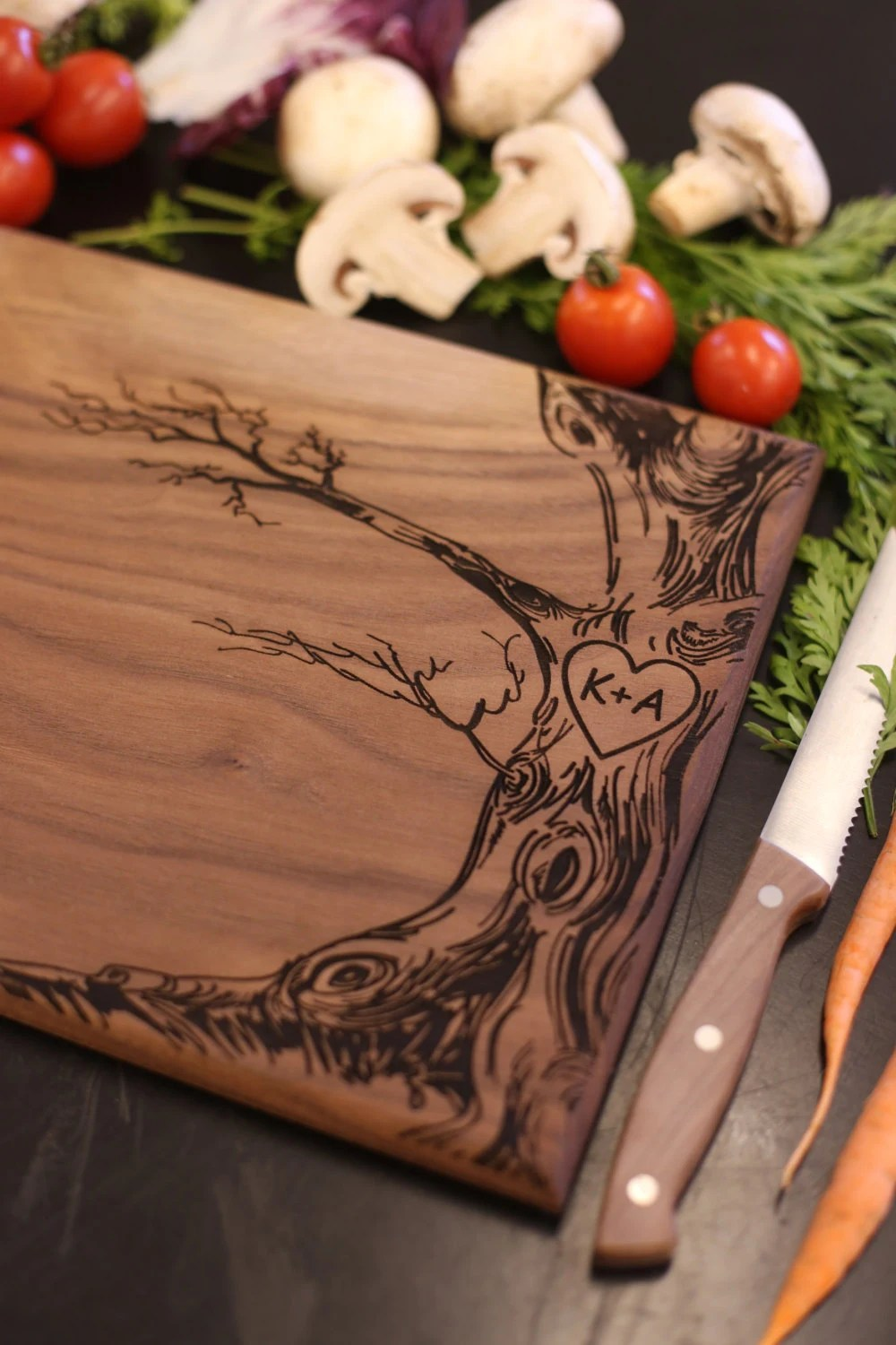 Christmas Cutting Board Win Personalized