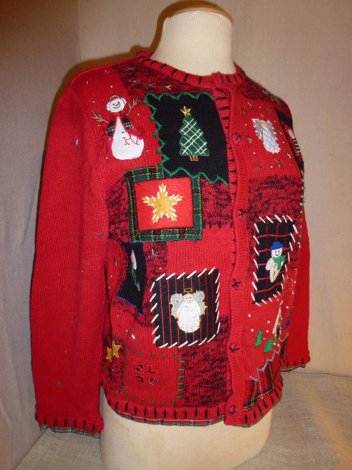Ugly Christmas Sweater Cute Christmas Sweater Womens