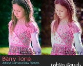 ACR Presets - 5 Berry Tone Photography Presets for Photoshop